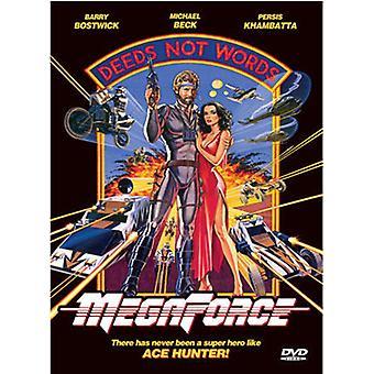 Megaforce [DVD] USA importerer