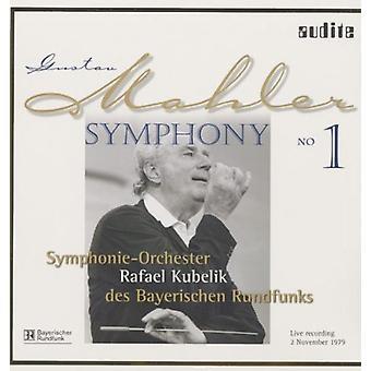 Mahler/Kubelik/Bavarian Radio Sym Orch - importación de los E.e.u.u. 1 de Sym [vinilo]