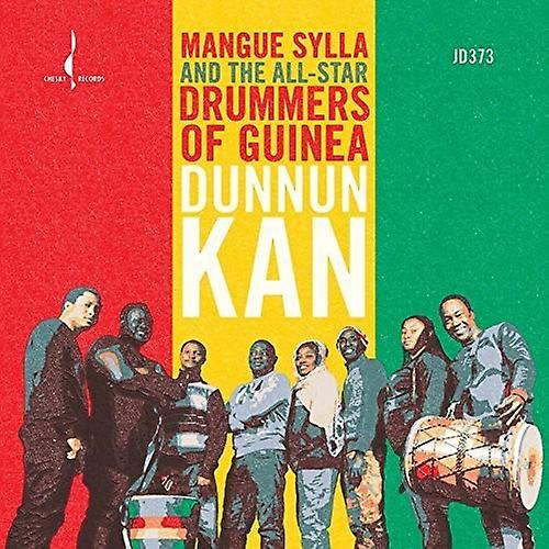 All-Star Drummers of Guines, the - Dunnun Kan [CD] USA import