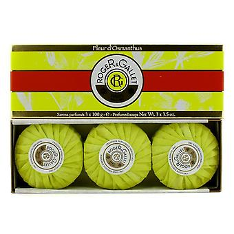Roger & Gallet Fleur d' Osmanthus Perfumed Soap Coffret 3x100g/3.5oz