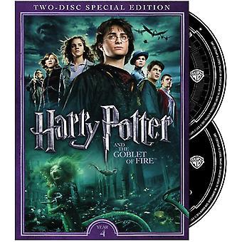 Harry Potter & Flammernes Pokal [DVD] USA importerer