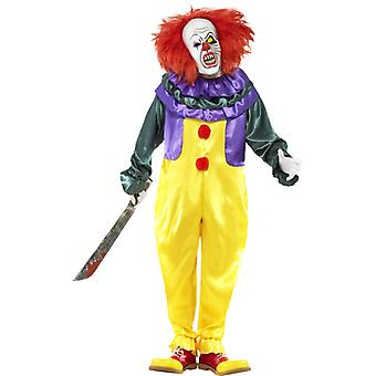 Klassischer Horror-Clown Kostüm