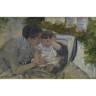 Mary Cassatt - Susan Comforting the Baby Poster Print Giclee