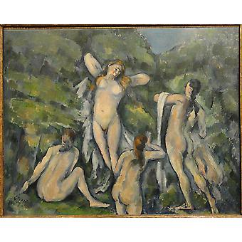 Paul Cezanne - Women Bathing Poster Print Giclee