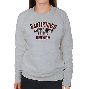 Mad Max Bartertown Helping Build A Better Tomorrow Women's Sweatshirt