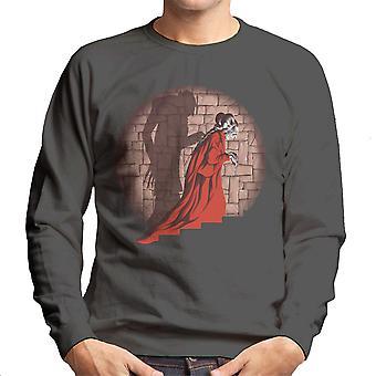Dracula Shadow Mismatch Men's Sweatshirt