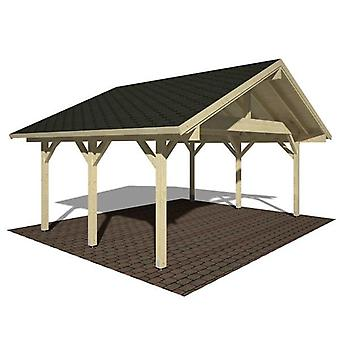 Palmako Robert Wooden Double Carport