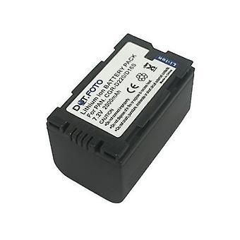 Batterie de rechange Hitachi DZ-BP16 de Dot.Foto - 7.2V / 2000mAh - garantie de 2 ans - Hitachi DZMV100E, DZMV200E, DZMV208E, DZMV230E, DZMV238E, DZMV270E