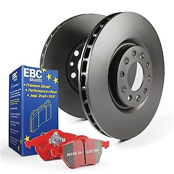 EBC Brake Kit - S12 Redstuff and RK Rotors S12KF1352 Fits:CHRYSLER  2005 - 2010