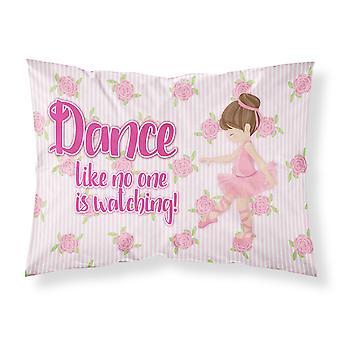 Ballet Dance Brunette Fabric Standard Pillowcase