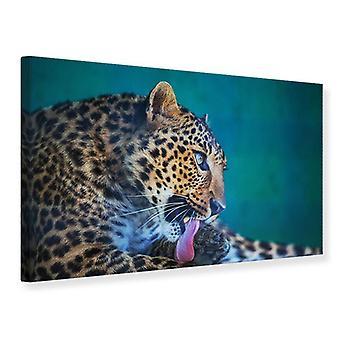 Lona impressão leopardo XL