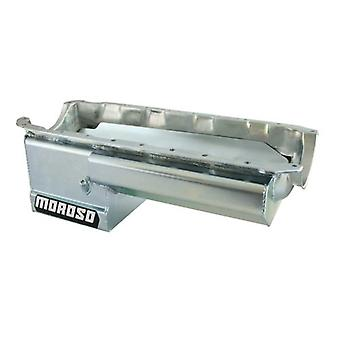 Moroso 21049 Steel Wet Sump Oil Pan for Chevy Big-Block Engines
