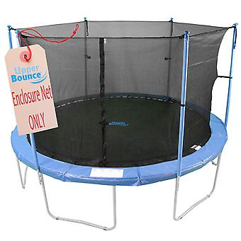 16'  Trampoline Enclosure Safety Net Fits For 16 FT. Round Frames Using 6 Poles or 3 Arches (poles not included)