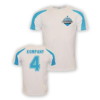 Vincent Kompany Man City Sports Training Jersey (white) - Kids
