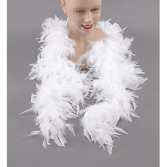 Feather Boa. White