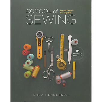 Lucky Spool Books-School Of Sewing LS-55024