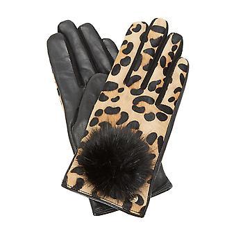 Dune IVOUS Pom Pom gant dans Leopard