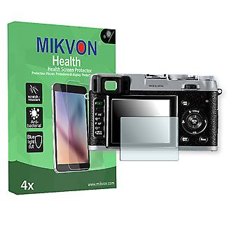 Fujifilm FinePix X100 Screen Protector - Mikvon Health (Retail Package with accessories)