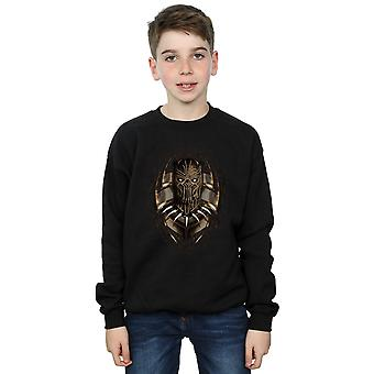 Wonder Boys Black Panther gouden Erik Killmonger Sweatshirt