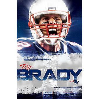 New England Patriots - Tom Brady 16 Poster Print