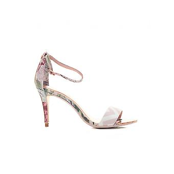 Ted Baker Palace Gardens Satin Ankle Strap Sandals
