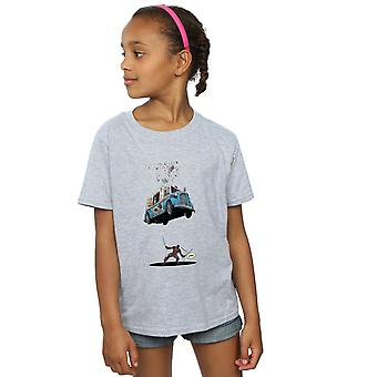 T-shirt o sorvete de Deadpool meninas maravilha