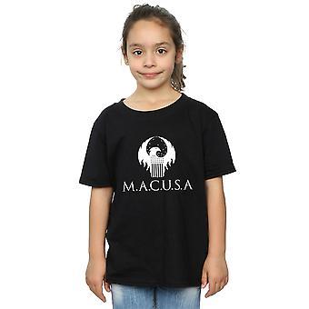 Bêtes fantastiques filles MACUSA Logo T-Shirt