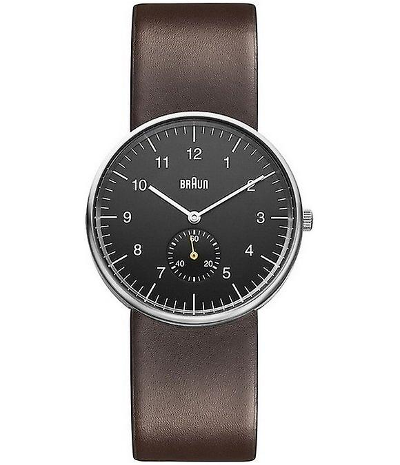 Braun Uhren Herrenuhr Classic BN0024BKBRG-66553