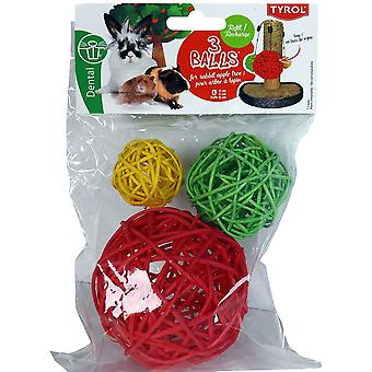Tyrol Refill Pack For Apple Tree For Rabbit (Small pets , Toys)