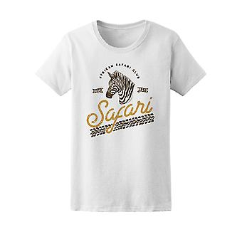 Zebra Safari Africano retrô Tee feminino-imagem por Shutterstock