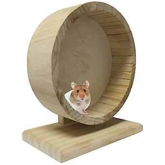 Ica Exercise Wheel Wood (Small pets , Toys)