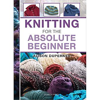 Search Press Books Knitting For The Absolute Beginner Sp 88735