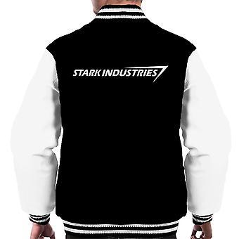 Stark Industries Iron Man Men's Varsity Jacket