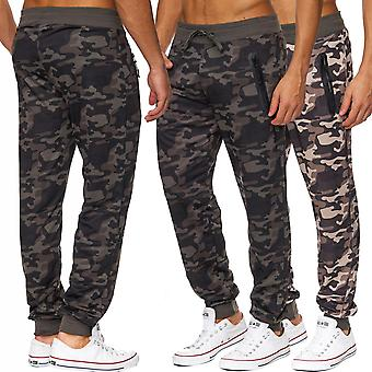 Mens Camouflage Jogging Pants Army Sweat Sport Camouflage Pattern Military Style New Hot