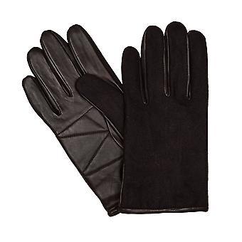 LLOYD mens gloves gloves felt antique Sheepskin Brown 6448