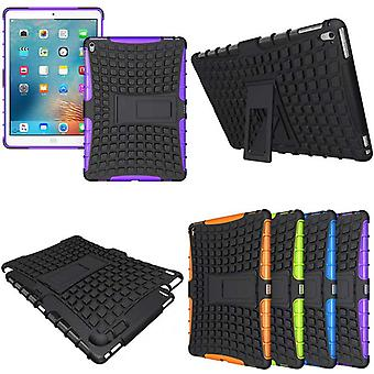 Hybrid outdoor protective cover case purple for iPad Pro 9.7 inch case
