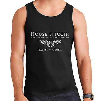 House Bitcoin Game Of Thrones Mix Men's Vest