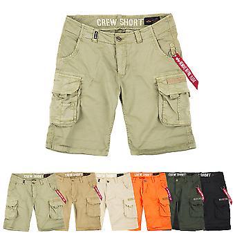 Equipo de industrias alfa hombres pantalones cortos