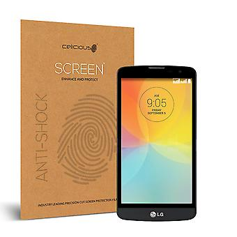 Celicious Impact Anti-Shock Shatterproof Screen Protector Film Compatible with LG Bello II
