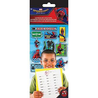 Teacher Reward Stickers 4 Sheets/Pkg-Spider-Man Homecoming