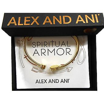 Alex and Ani Path of Life Cuff Bracelet 14Kt Gold Plated - PC17CF01G