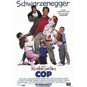 Kindergarten Cop Movie Poster (11 x 17)