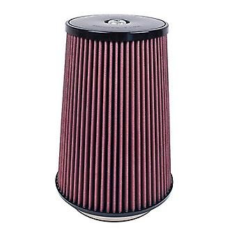 Airaid 701-032 Universal Clamp-On Air Filter: Round Tapered; 5.5 in (140 mm) Flange ID; 12 in (305 mm) Height; 9 in (229