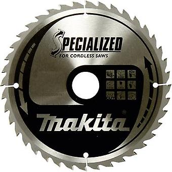 Carbide metal circular saw blade 136 x 20 x 1 mm Number of cogs: 36 Makita SPECIALIZED B-33635 1 pc(s)