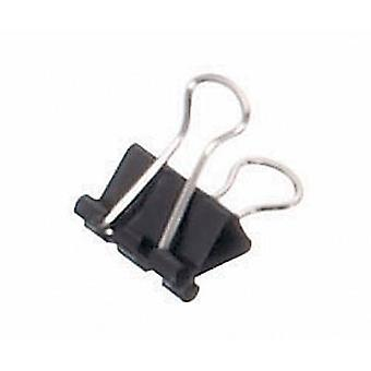 Mauly Letter clip 2151690 5 mm Black 12 pc(s)