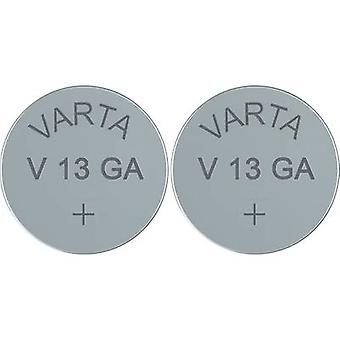 Button cell LR44 Alkali-manganese Varta Electronics AG13