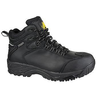 Amblers Mens FS190 Waterproof Steel Toe & Midsole Safety Boot S3-SRC