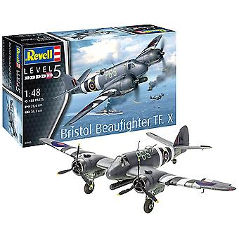 Revell 03943 Bristol Beaufighter TF. X Model Kit - échelle 01:48