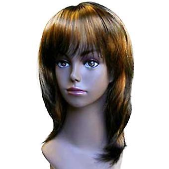 Fashion women medium straight E DEBRA YP5 275 professional wig