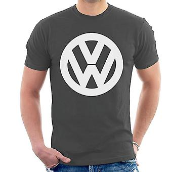 Official Volkswagen Classic White VW Logo Men's T-Shirt